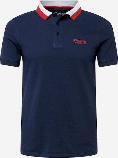 Barbour International Shirt in navy / rot / weiß, Produktansicht