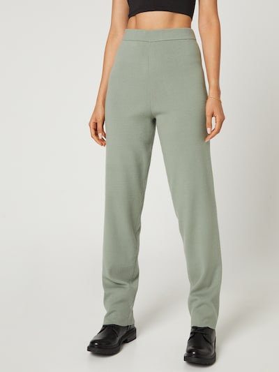 Guido Maria Kretschmer Collection Pants 'Merle' in Green, View model