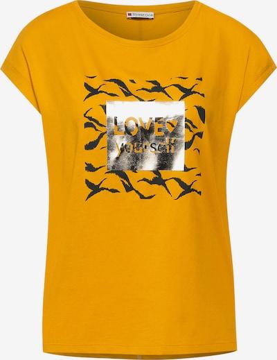 STREET ONE T-Shirt in senf / mischfarben, Produktansicht