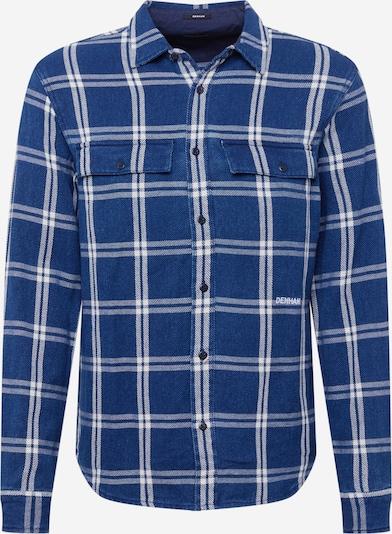 DENHAM Button Up Shirt 'BYRON' in Navy / White, Item view