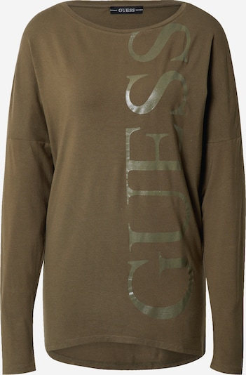 GUESS Shirt 'KAROLINA' in oliv, Produktansicht