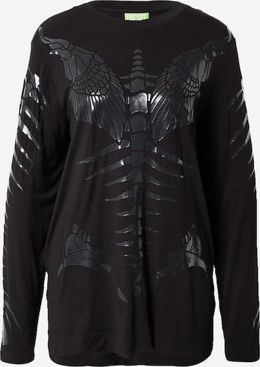 Tricou 'T-HILARIOUS' DIESEL pe negru, Vizualizare produs
