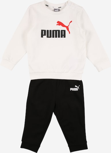 PUMA Tracksuit in red / black / white, Item view