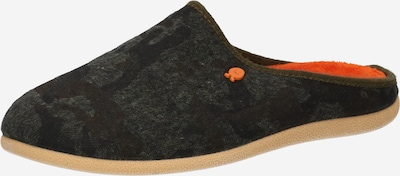 Hot Potatoes Slippers 'FORCHACH' in Khaki / Orange / Black, Item view