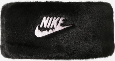 Nike Sportswear Accessoires Κορδέλα για το μέτωπο σε μαύρο / λευκό, Άποψη προϊόντος