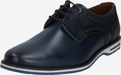 LLOYD Chaussure à lacets 'Dragan' en bleu foncé / brun foncé, Vue avec produit