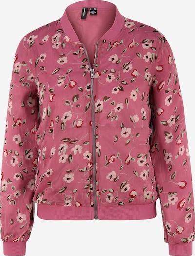 Vero Moda Petite Jacke 'KAY' in dunkelbraun / mint / pink / altrosa, Produktansicht