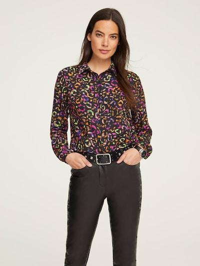 Bluză heine pe culori mixte / negru, Vizualizare model