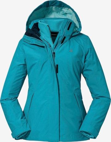 Schöffel Outdoor Jacket in Blue