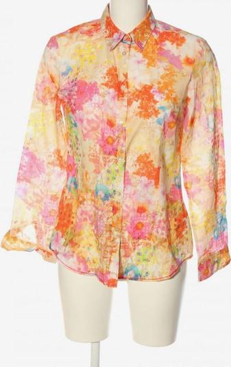 Brax feel good Langarmhemd in S in creme / hellorange / pink, Produktansicht