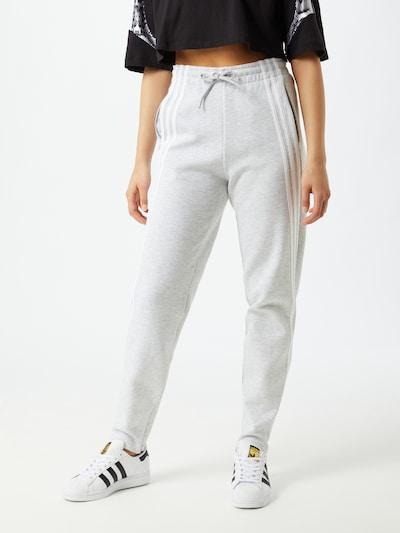 ADIDAS PERFORMANCE Sportbroek in de kleur Grijs / Wit, Modelweergave