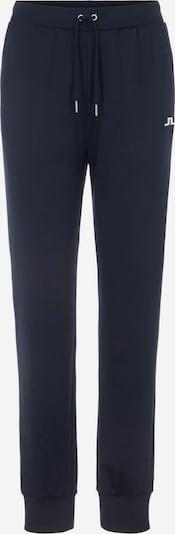 J.Lindeberg Sportbroek in de kleur Donkerblauw / Wit, Productweergave