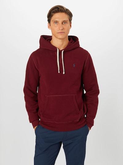 POLO RALPH LAUREN Sweatshirt i vinrød: Frontvisning