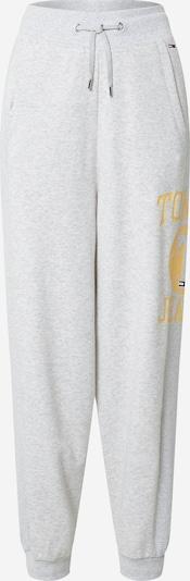 Tommy Jeans Pantalon en safran / gris chiné, Vue avec produit