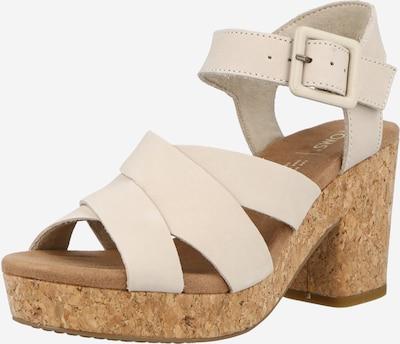 Sandale cu baretă 'Ava' TOMS pe bej, Vizualizare produs