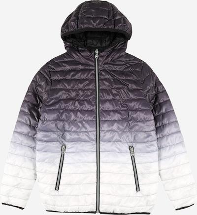 OVS Winterjas in de kleur Antraciet / Wit, Productweergave