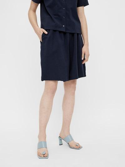 OBJECT Pantalon 'DARYA' en marine, Vue avec modèle