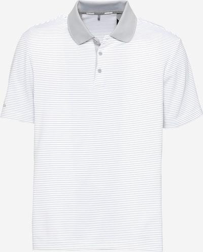 adidas Golf T-Shirt fonctionnel en gris clair / blanc, Vue avec produit
