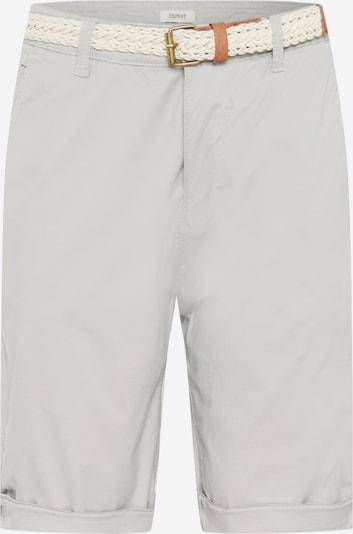 ESPRIT Chinohousut värissä karamelli / vaaleanharmaa / valkoinen, Tuotenäkymä