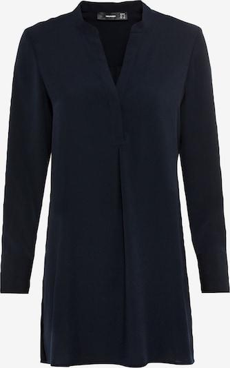 HALLHUBER Long-Bluse mit Seitenschlitzen in schwarz, Produktansicht