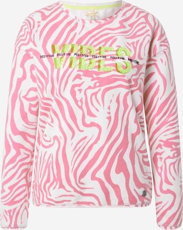 Key Largo Sweatshirt 'Groove' in Pink