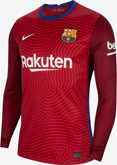 NIKE Trikot 'FC Barcelona' in rot / weiß, Produktansicht