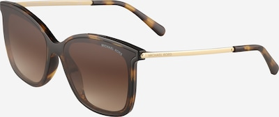 Michael Kors Sončna očala 'ZERMATT' | rjava / zlata barva, Prikaz izdelka