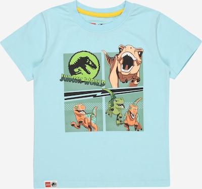 LEGO WEAR Тениска в тюркоазен / светлокафяво / зелено / светлозелено, Преглед на продукта