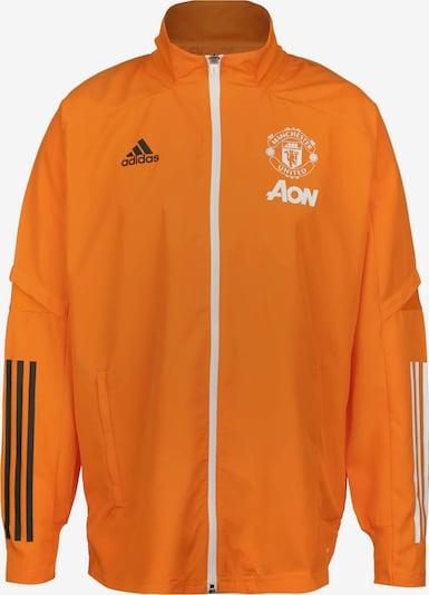 ADIDAS PERFORMANCE Veste de sport en orange / blanc, Vue avec produit