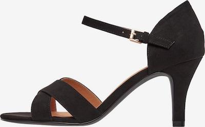 Bianco Sandalen met riem 'BIAADORE' in de kleur Zwart, Productweergave