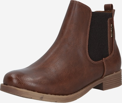 TOM TAILOR Chelsea Boots en ocre, Vue avec produit