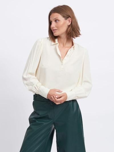 VILA Bluse in beige, Modelansicht
