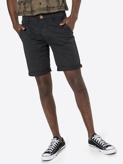 BLEND Chinobyxa i svart, På modell