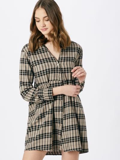 Hailys Kleid 'Maja' in beige / schwarz, Modelansicht
