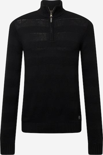 BLEND Pullover 'BHNANTES' in schwarz: Frontalansicht