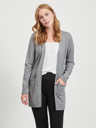OBJECT Cárdigan en gris, Vista del modelo