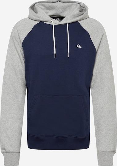 QUIKSILVER Sweatshirt in Navy / mottled grey, Item view