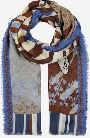 CODELLO Sjaal 'She Dandy' in de kleur Royal blue/koningsblauw / Gemengde kleuren, Productweergave