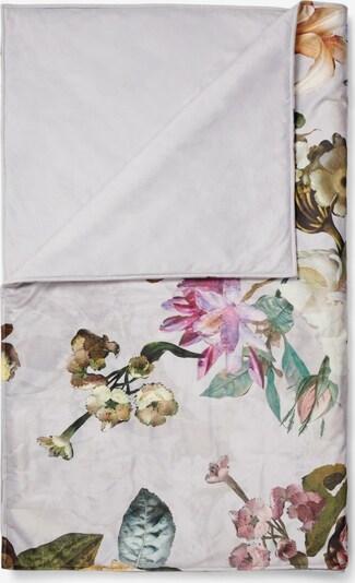 ESSENZA Decke 'Fleur' in hellgrau / mischfarben, Produktansicht