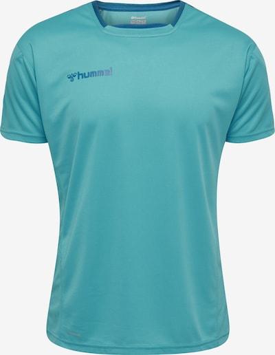 Hummel Shirt in blau, Produktansicht