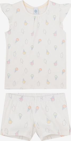 SANETTA Pajamas in Mixed colors / White, Item view