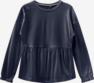 NAME IT Shirt 'NMFVALINA LS TOP T' in grau, Produktansicht