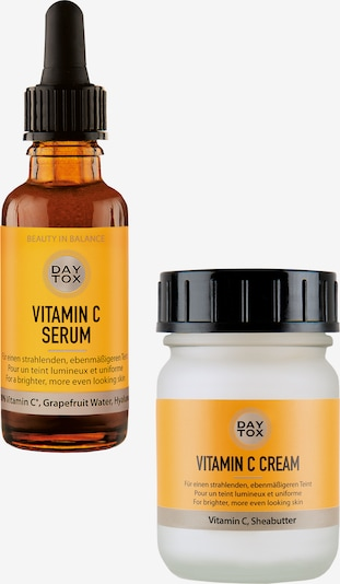 DAYTOX Gesichtscreme 'VITAMIN C GLOW DUO SET' 80 ml in transparent, Produktansicht