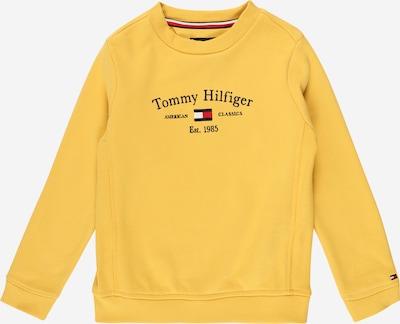 Bluză de molton TOMMY HILFIGER pe bleumarin / galben / roșu / alb, Vizualizare produs