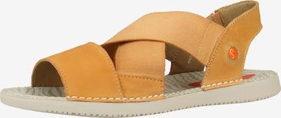 Softinos Sandale in orange, Produktansicht