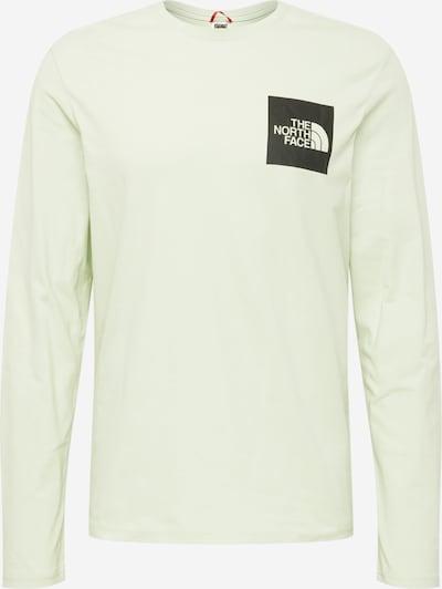 THE NORTH FACE Shirt in de kleur Pastelgroen / Zwart, Productweergave