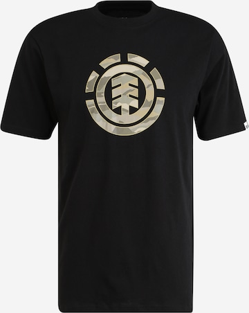 ELEMENT T-shirt i svart