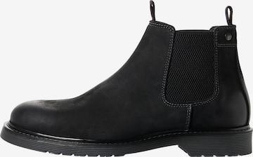 JACK & JONES Chelsea Boots in Black