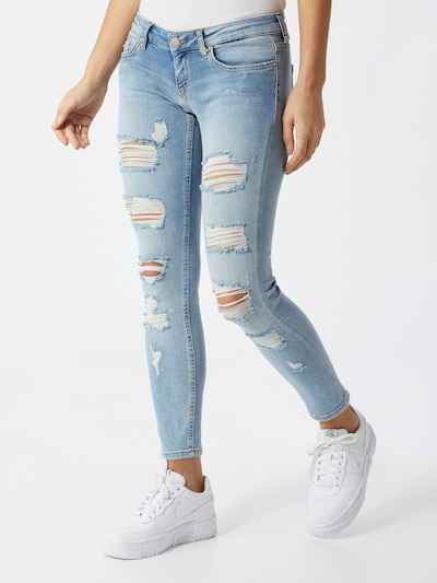ONLY Jeans 'CORAL' in hellblau, Modelansicht