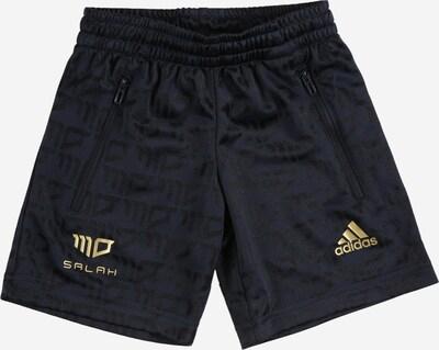 ADIDAS PERFORMANCE Pantalon de sport 'SALAH' en bleu nuit / or / noir, Vue avec produit